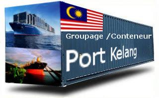 Malaisie Port Kelang groupage maritime