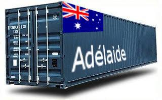 Australie Adelaide groupage maritime