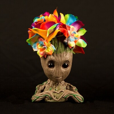 Rainbow Rose Groot