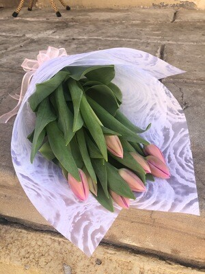 Pink Tulip Wrap