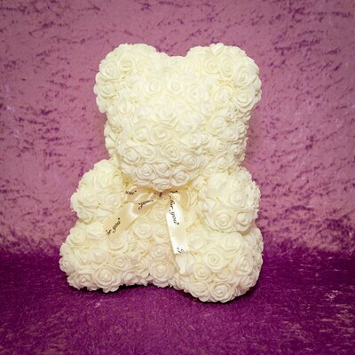 White Forever rose Teddy