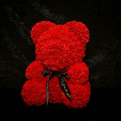 Red Forever rose Teddy