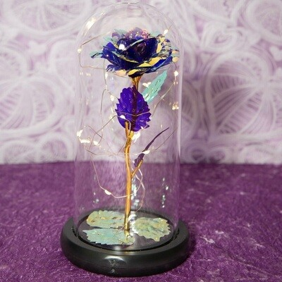 Purple Galaxy Rose Dome