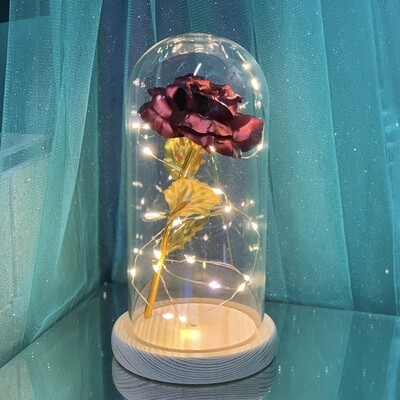 Red gold Rose Dome