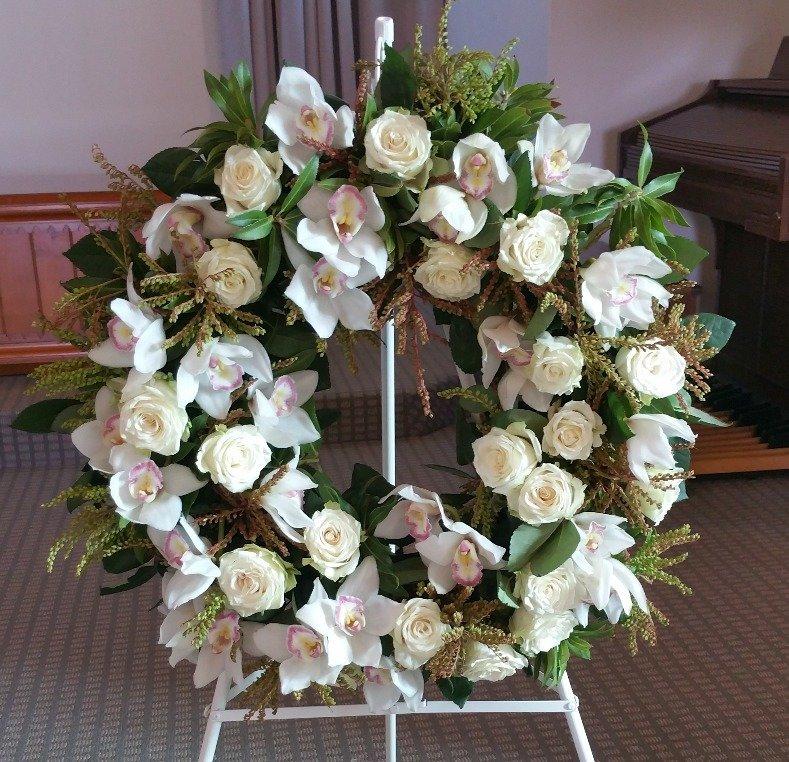 Mixed Pastel wreath