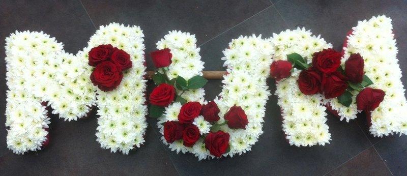 Mum with roses