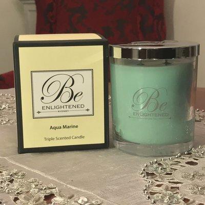 BeEnlightened Aqua Marine Candle
