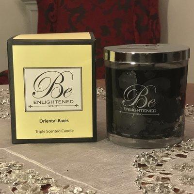 BeEnlightened Oriental Bales Candle