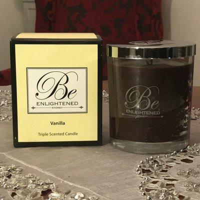 BeEnlightened Vanilla Candle