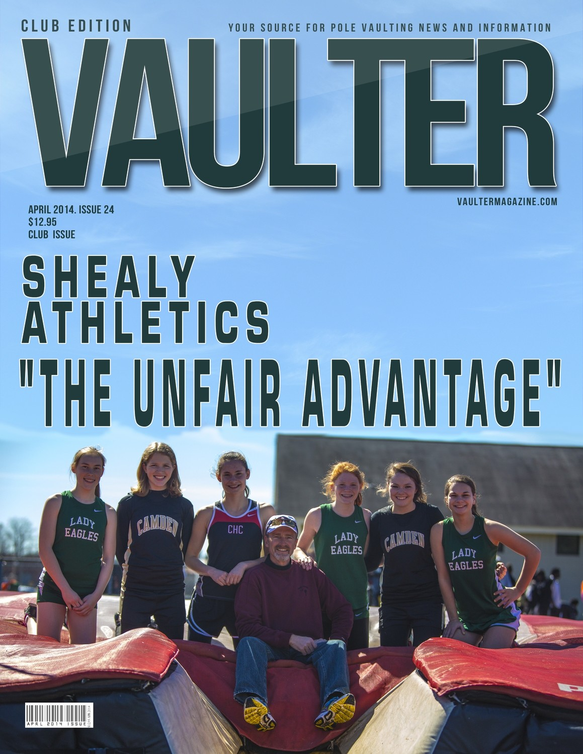 "April 2014 Rusty Shealy Issue of VAULTER Magazine USPS First Class ""ONLY"""