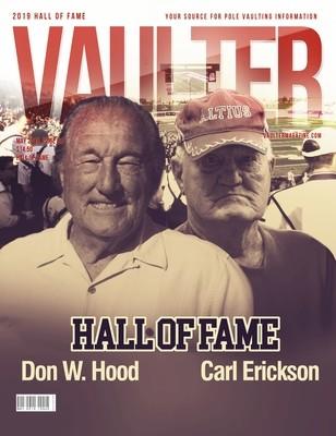 May 2019 Vaulter Magazine Hall of Fame Issue of Vaulter Magazine  U.S. Standard Mail