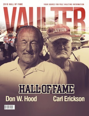 May 2019 Vaulter Magazine Hall of Fame Issue of Vaulter Magazine Cover  - Poster