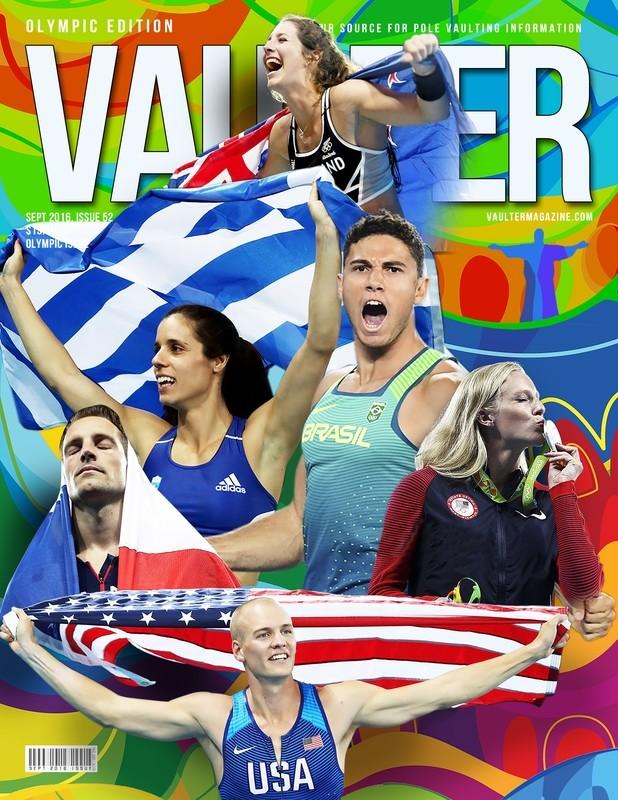 1 Year Hard Copy Subscription of Vaulter Magazine