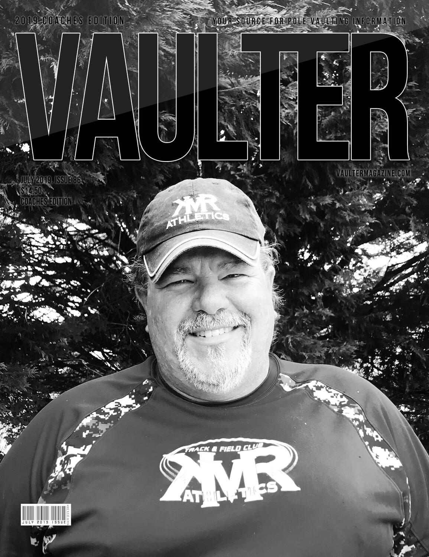 "July 2019 Vaulter Magazine Brian Riggs ""KMR"" Issue - Digital Download"