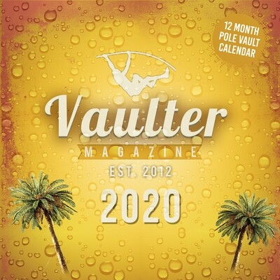 2020 vaulter Magazine Series One Calendar