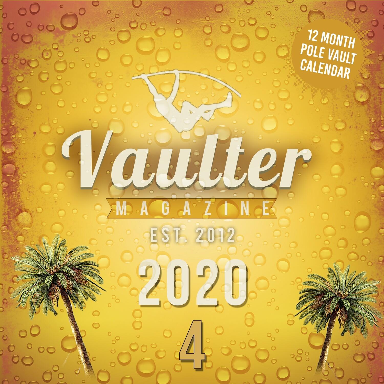 2020 Vaulter Magazine Series FOUR Calendar