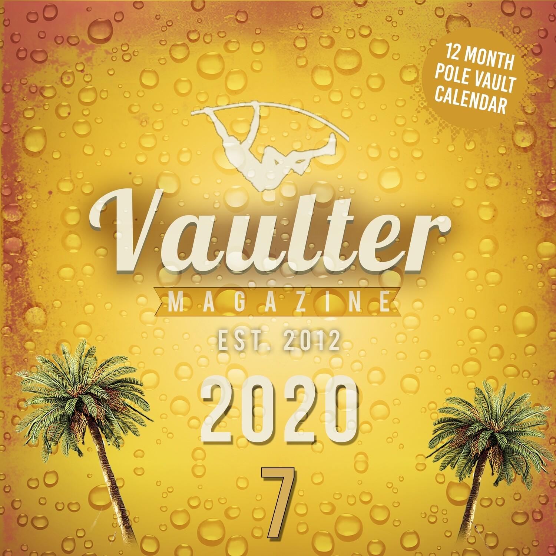 2020 Vaulter Magazine Series SEVEN Calendar