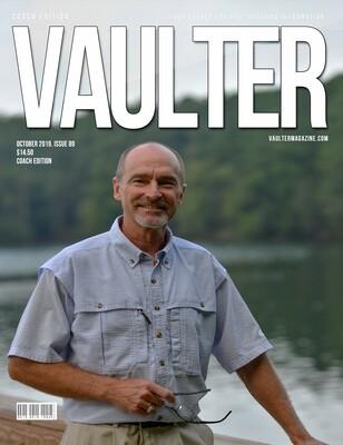 October 2019 Vaulter Magazine Rusty Shealy Issue of Vaulter Magazine  U.S. Standard Mail