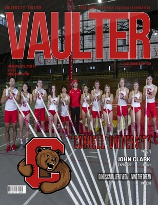 February 2020 Vaulter Magazine Cornell University Issue  - Poster