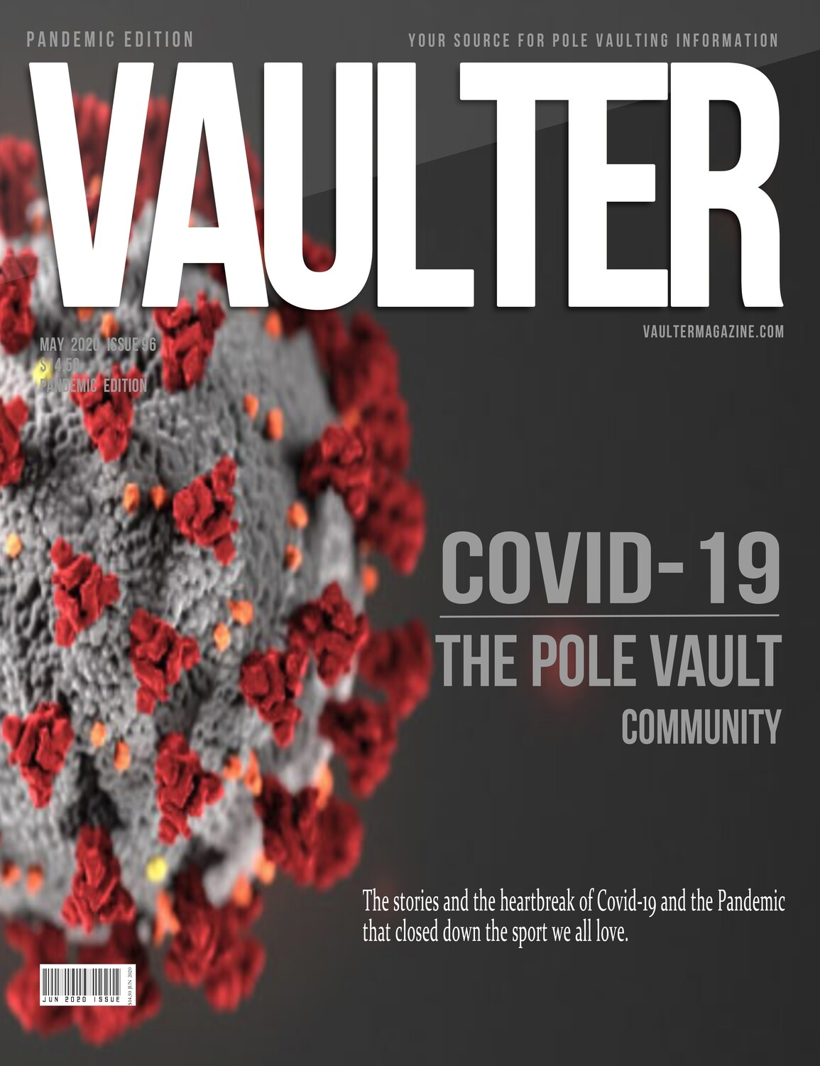 May 2020 Covid-19 Issue of Vaulter Magazine - Digital Download