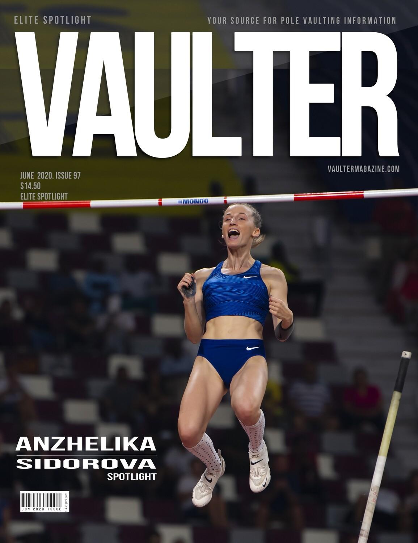 June 2020 Covid - 19 Issue of Vaulter Magazine  U.S. Standard Mail