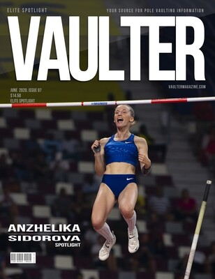 June 2020 Sidorova Anzhelika Issue of Vaulter Magazine  U.S. Standard Mail