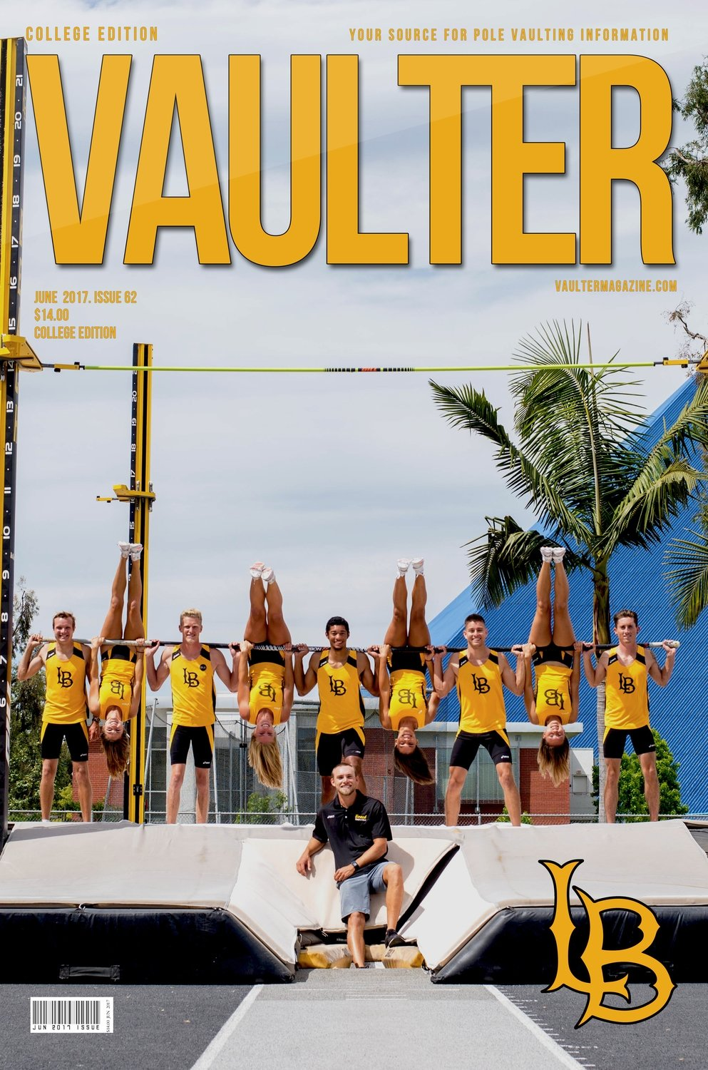 2017 Long Beach State University Cover June Digital Download