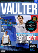 """12"""" x 18"""" Poster of  Renaud Lavillenie First Limited Edition Cover of VAULTER"""