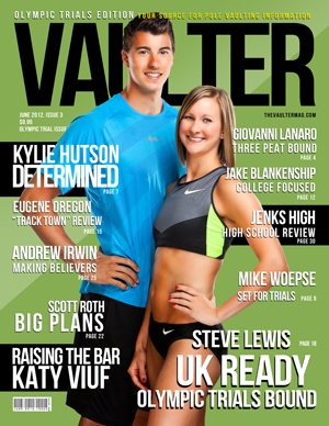 "12"" x 18"" Poster of  Steve Lewis and Kylie Hutson Cover of VAULTER"