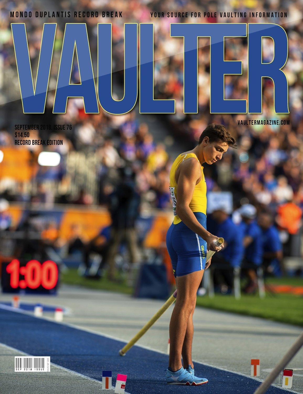 September 2018 Armondo Duplantis Issue of Vaulter Magazine - U.S. Standard Mail