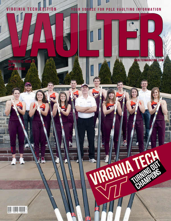 """12"""" x 18"""" Poster of the Virginia Tech Cover of VAULTER"""
