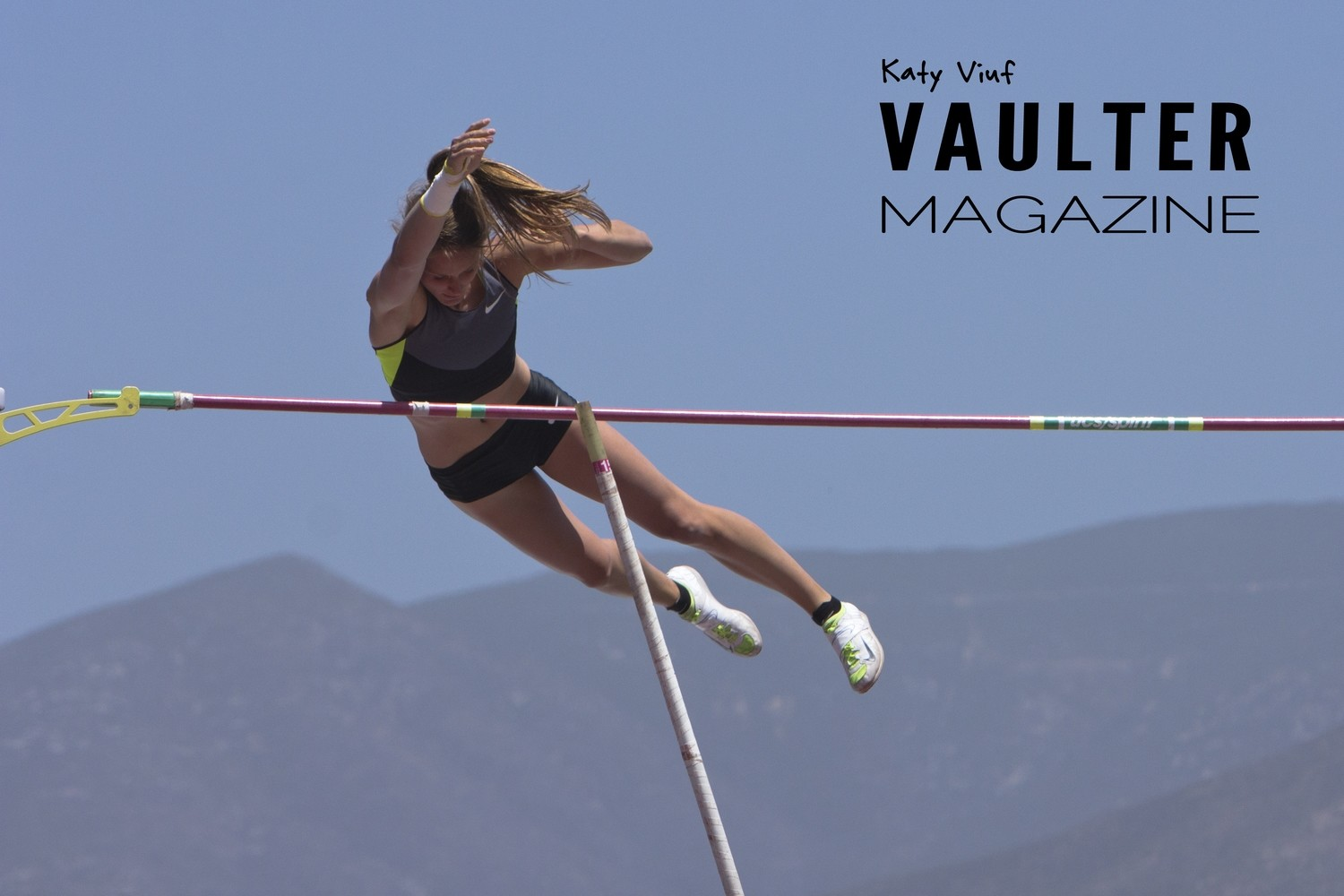 Six Poster Pack of Elite Vaulters Three