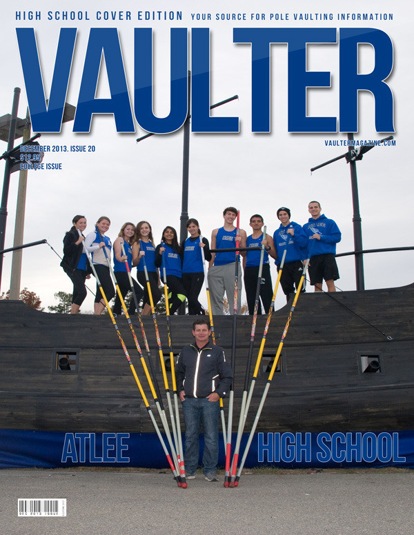 """12"""" x 18"""" Poster of Atlee High School Cover of VAULTER"""