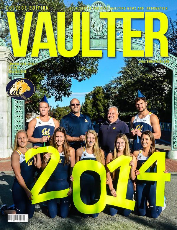 "12"" x 18"" Poster of the University of California Berkley Cover of VAULTER"