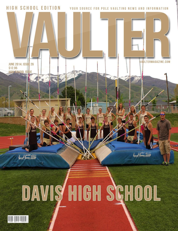 """12"""" x 18"""" Poster of Davis High School Cover of VAULTER"""