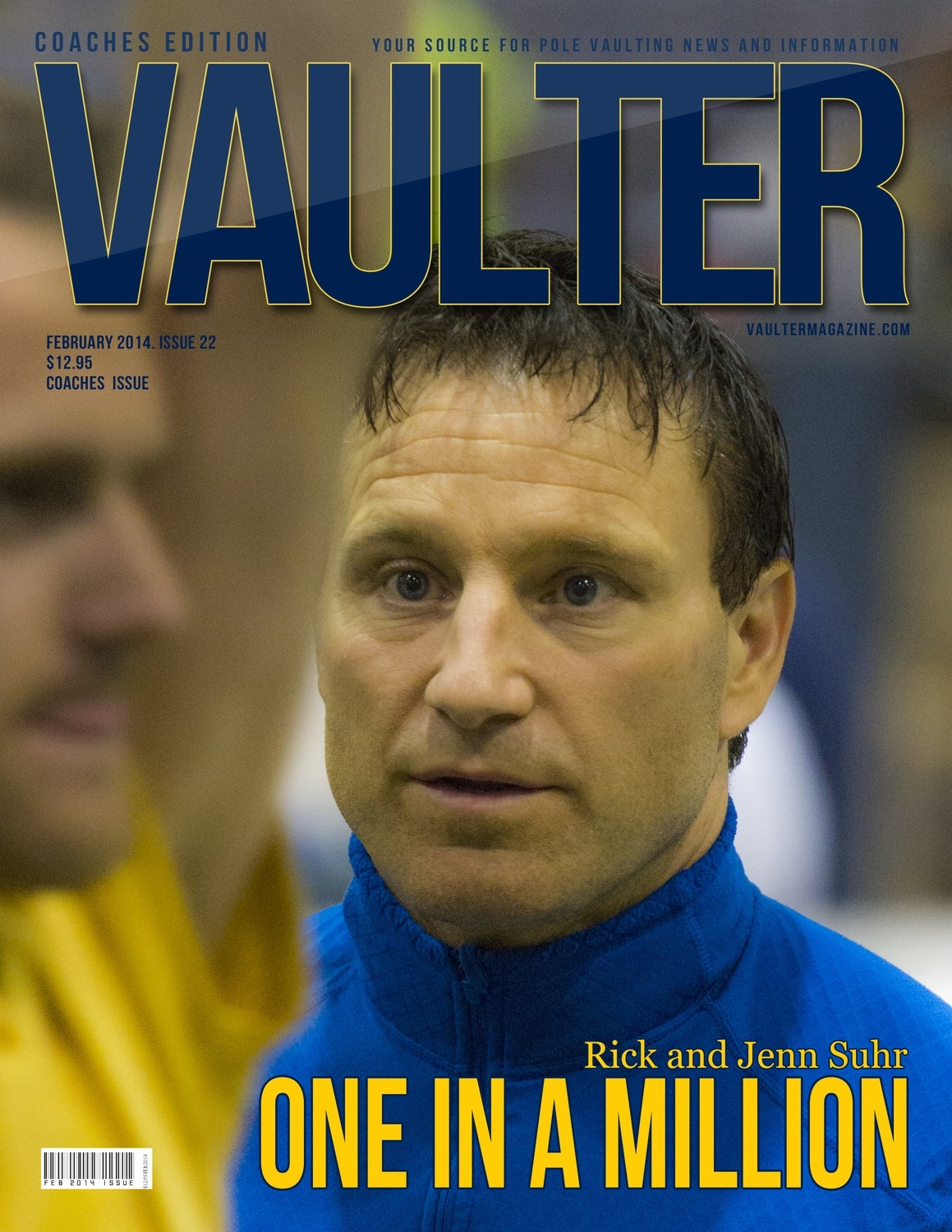 """February 2014 Issue of VAULTER Magazine USPS First Class """"ONLY"""""""