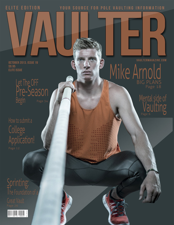 """October 2013 Issue of VAULTER Magazine USPS First Class """"ONLY"""""""