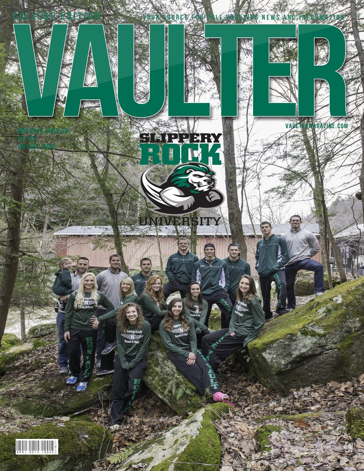 May 2014 Slippery Rock University Issue of VAULTER Magazine
