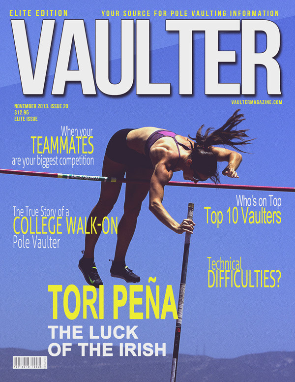 """November 2013 Issue of VAULTER Magazine USPS First Class """"ONLY"""""""