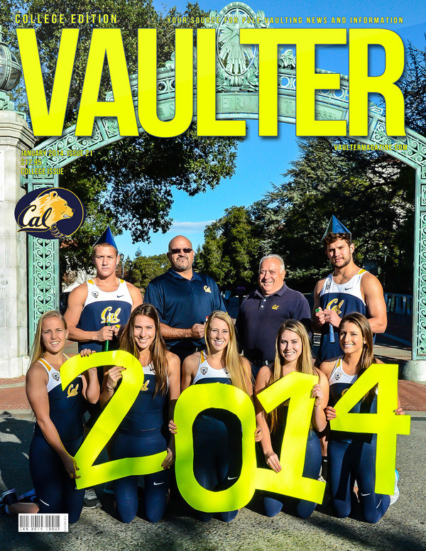 """January 2014 Issue of VAULTER Magazine USPS First Class """"ONLY"""""""