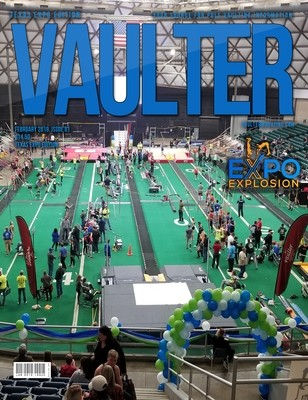 February 2019 Texas EXPO Issue of Vaulter Magazine Cover  - Poster