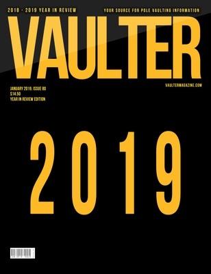 January 2019 Recap Issue of Vaulter Magazine. -  U.S. Standard Mail
