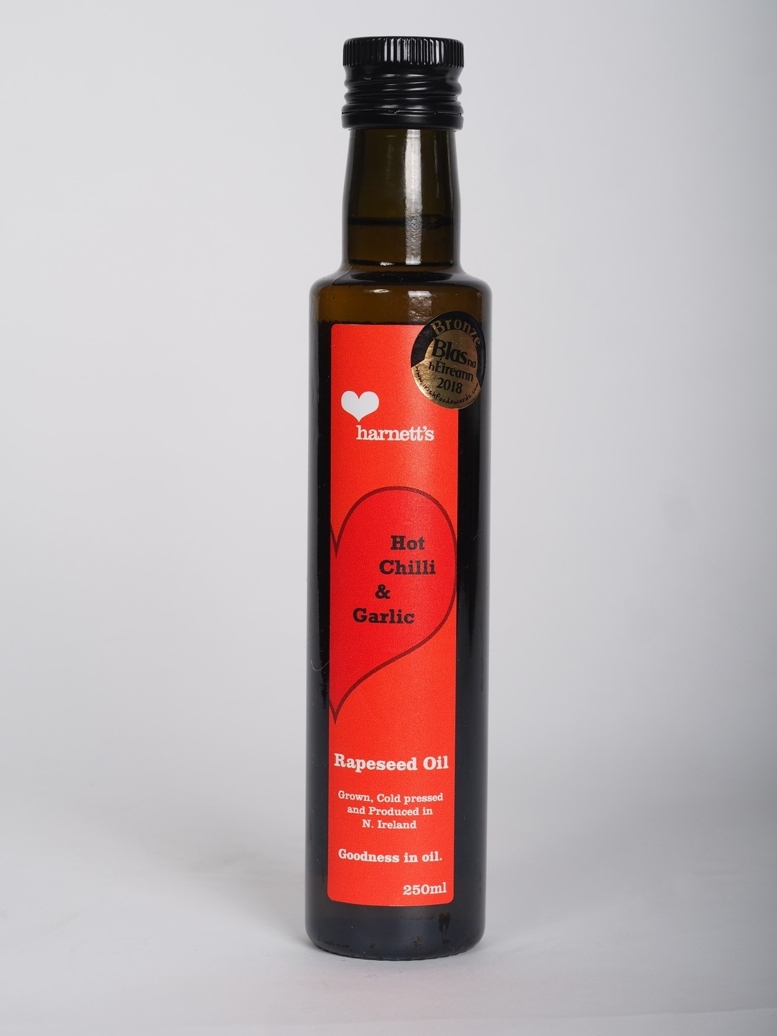 Harnett's Chilli and Garlic Rapeseed Oil 250ml