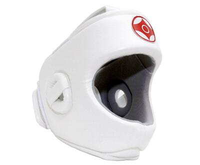 Шлем для каратэ Expert с защитой верха головы (кожзаменитель)