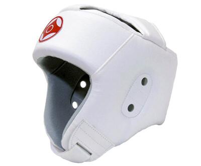 Шлем для каратэ открытый (натуральная кожа)
