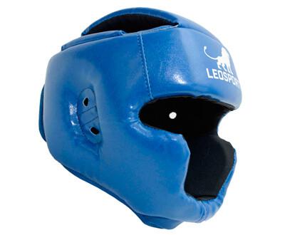 Шлем боксерский с закрытым подбородком и верхом головы