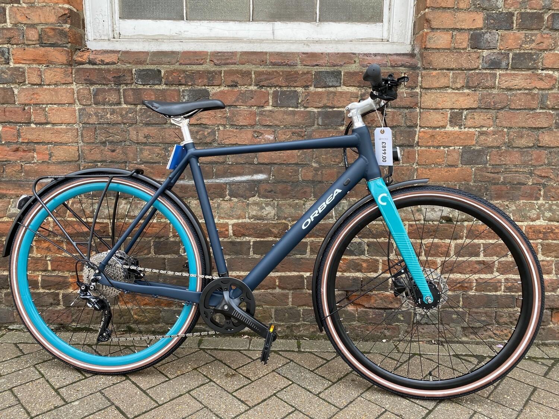 Orbea Carpe 10 Hybrid Large Frame Blue