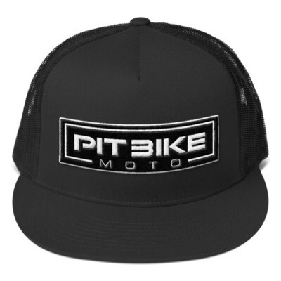 Blacked-Out Trucker Hat