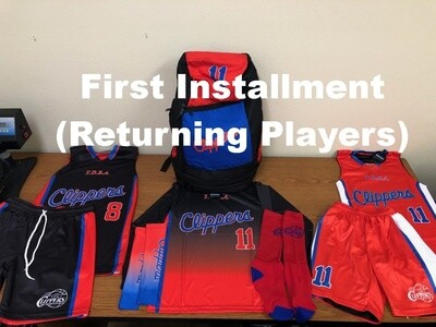 First Installment Payment For Returning Players