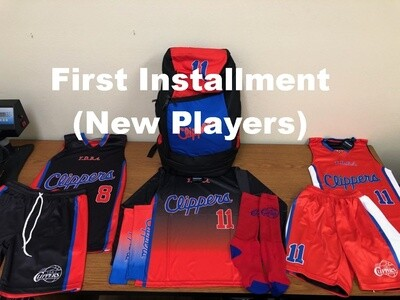 TDBA Clippers (First Installment Payment for New Players)